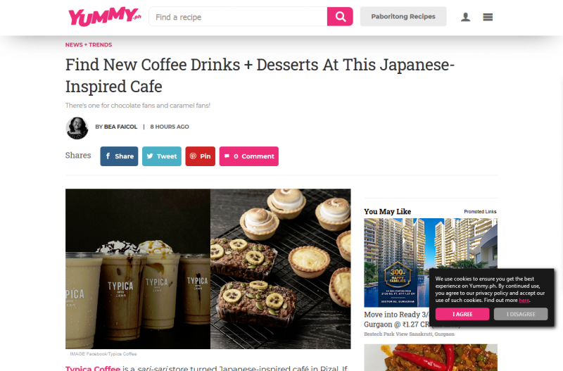 Find New Coffee Drinks + Desserts At This Japanese-Inspired Cafe