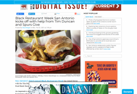 Black Restaurant Week San Antonio kicks off with help from Tim Duncan and Spurs Give