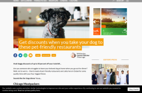 Get discounts when you take your dog to these pet friendly Dubai restaurants