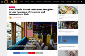 New Rundle Street restaurant Daughter in Law has naan-style pizza and international flair