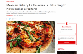 Mexican Bakery La Calavera Is Returning to Kirkwood as a Pizzeria