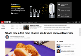What's new in fast food: Chicken sandwiches and cauliflower rice