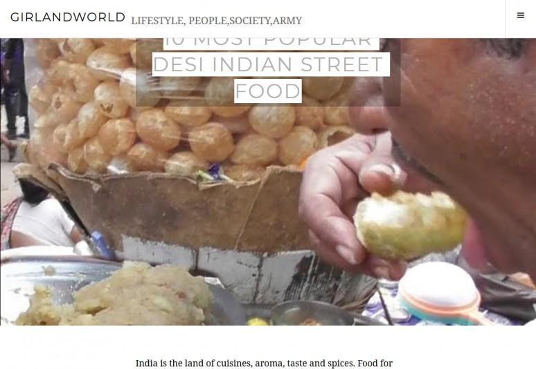 10 Most popular Desi Indian Street Food