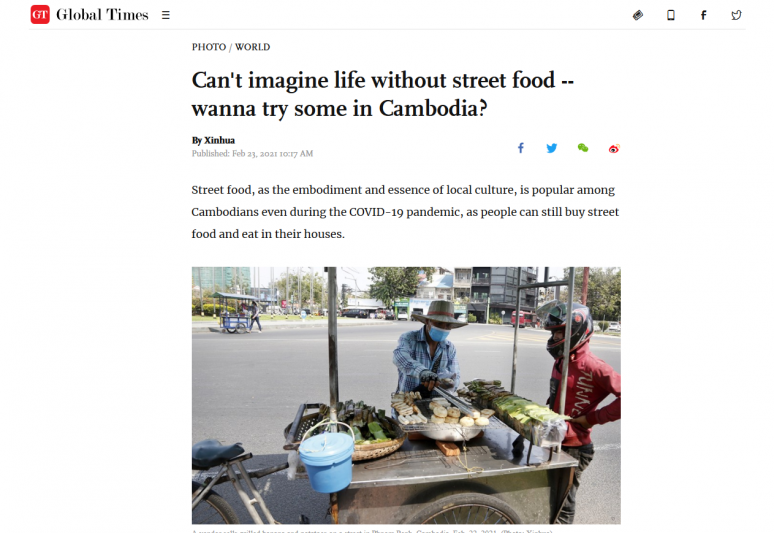 Can't imagine life without street foodwanna try some in Cambodia?