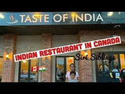 Indian Restaurant in Canada 🇨🇦   Taste Of India 🇮🇳   Prince Edward Island   Siri Siblings