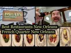 Best Restaurants New Orleans: Mr. B's Bistro French Quarter New Orleans Restaurant Review Videos