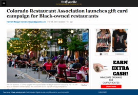 Colorado Restaurant Association launches gift card campaign for Black-owned restaurants