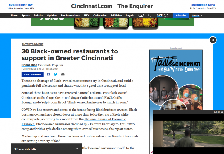 30 Black-owned restaurants to support in Greater Cincinnati