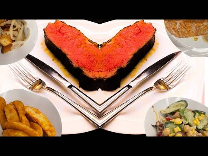 Halal Food in Singapore| Halal Restaurant in Singapore| Steak and Salmon