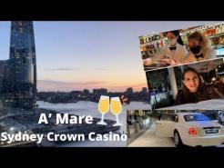 Sydney Crown Casino   A'Mare Italian Restaurant   Barangaroo 🥂 ️
