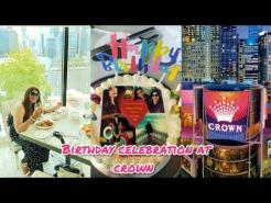 Birthday celebration and amazing luxury buffet at conservatory restaurant,crown towers Melbourne