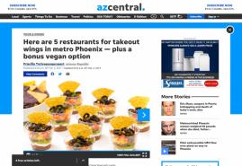 Here are 5 restaurants for takeout wings in metro Phoenix — plus a bonus vegan option