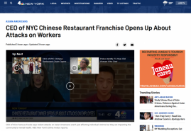 CEO of NYC Chinese Restaurant Franchise Opens Up About Attacks on Workers