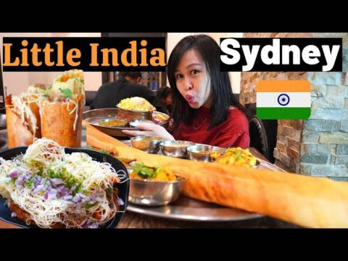 INCREDIBLE INDIAN Street Food Tour in LITTLE INDIA Sydney