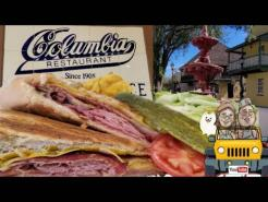 Columbia Restaurant Review St.  Augustine Florida let try the  Cuban Sandwiches 2021