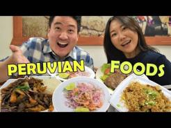 Peruvian Food Mukbang! | Best Restaurants in Los Angeles 2021