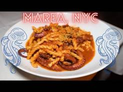Marea NYC. One MICHELIN STAR. Eating at One of THE BEST Italian Restaurants