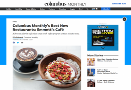Columbus Monthly's Best New Restaurants: Emmett's Café