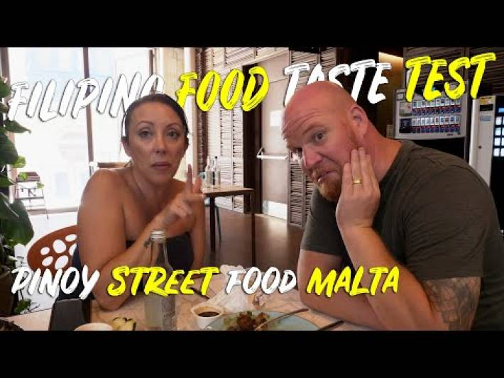 Our first time eating Filipino food in Malta | MTLATV