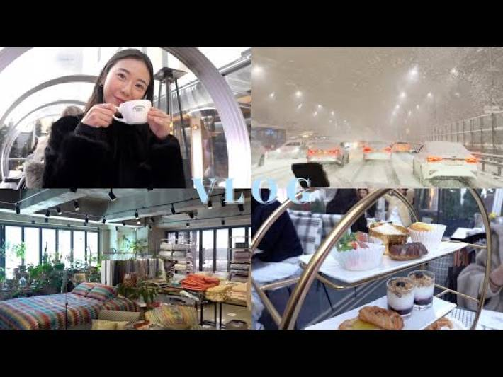 MOVING TO KOREA DIARIES 🇰🇷| Trendy places in Seoul (seoul restaurants, cafes) | KOREA VLOG | 브이로그