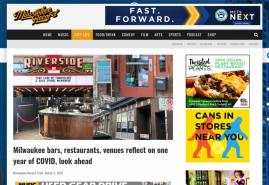 Milwaukee bars, restaurants, venues reflect on one year of COVID, look ahead