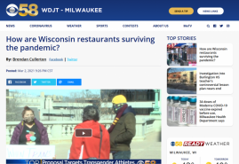 How are Wisconsin restaurants surviving the pandemic?