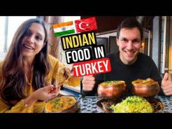 INDIAN Food in TURKEY! TRYING Indian Food for the FIRST TIME in ISTANBUL!