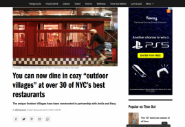 """You can now dine in cozy """"outdoor villages"""" at over 30 of NYC's best restaurants"""