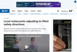 Local restaurants adjusting to lifted safety directives