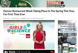 Denver Restaurant Week Taking Place In The Spring This Year, For First Time Ever