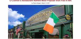 O'Connor's Restaurant Named Most Popular Irish Pub in MA