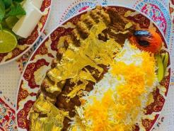 Dubai's oldest Persian restaurant offers 23-carat gold dishes