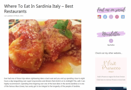 Where To Eat In Sardinia Italy Best Restaurants
