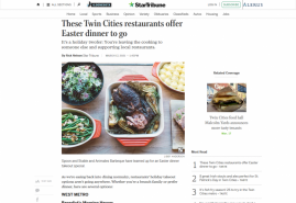 These Twin Cities restaurants offer Easter dinner to go