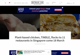Plant-based chicken, TiNDLE, flocks to 11 restaurants in Singapore come 18 March