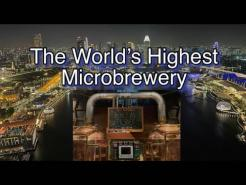 Singapore's Rooftop Bars & Restaurants LeVeL33 World's Highest Microbrewery