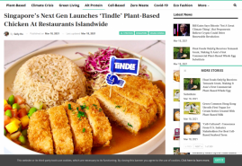 Singapore's Next Gen Launches 'Tindle' Plant-Based Chicken At Restaurants Islandwide
