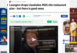 Loungers drops Llandudno M&S site restaurant plan but there is good news