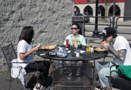 Spring temperatures bring restaurants hope for outdoor dining clientele