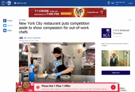 New York City restaurant puts competition aside to show compassion for out-of-work chefs