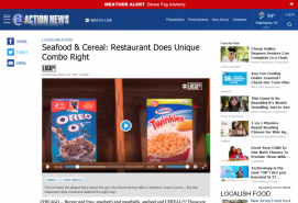 Seafood & Cereal: Restaurant Does Unique Combo Right