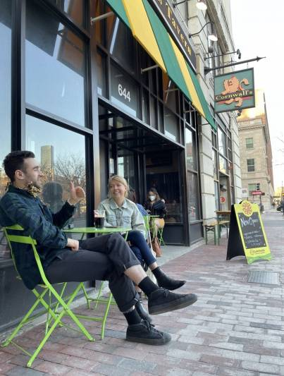 Spring Brings Hope For Boston Restaurant Struggling To Survive