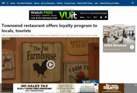 Townsend restaurant offers loyalty program to locals, tourists