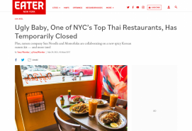 Ugly Baby, One of NYC's Top Thai Restaurants, Has Temporarily Closed
