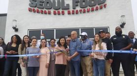Seoul Food Korean BBQ cuts ribbon for community's newest restaurant