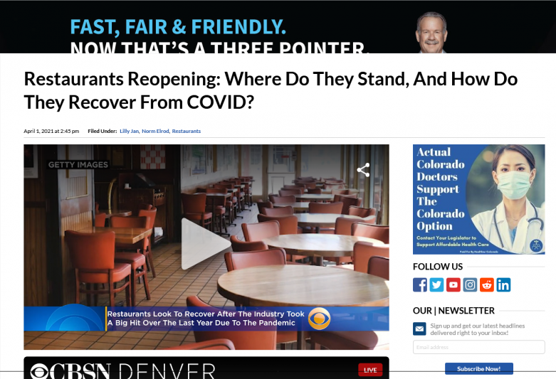 Restaurants Reopening: Where Do They Stand, And How Do They Recover From COVID?