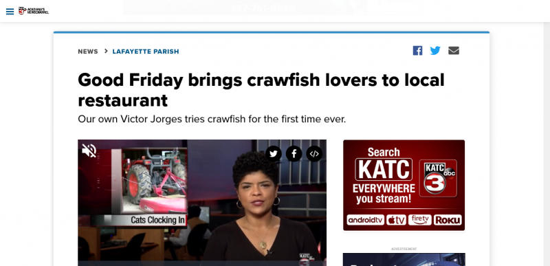 Good Friday brings crawfish lovers to local restaurant