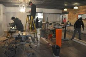 Crews wrapping up $250K in renovations at Hermann's; restaurant to reopen this Saturday