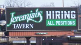 Restaurants hiring amid rising customer demand