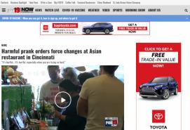 Harmful prank orders force changes at Asian restaurant in Cincinnati